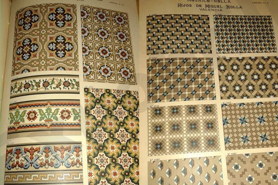 Catálogo de mosaicos Nolla