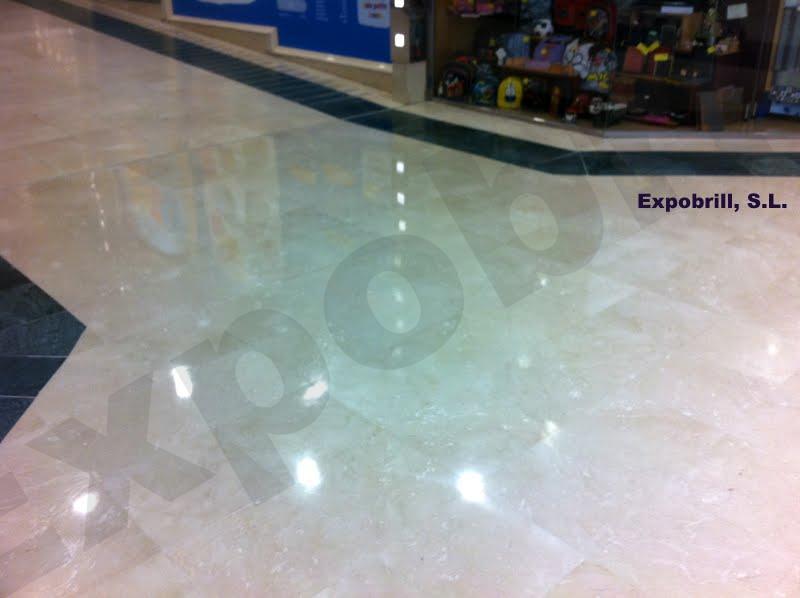 cristalización suelo de mármol