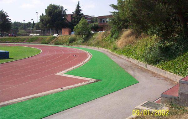 Reformas de instalaciones deportivas.