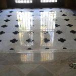 Polit de terra de marbre a Barcelona