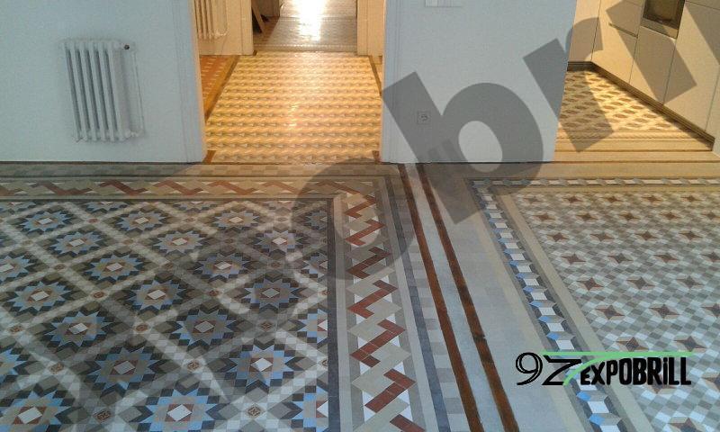 mosaico de Nolla recuperado