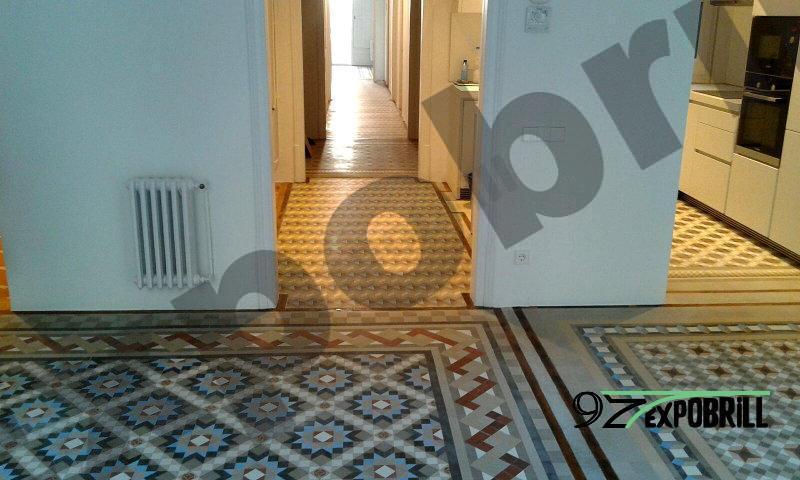 mosaicos de Nolla restaurados
