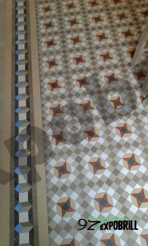 pulidores mosaicos de Nolla