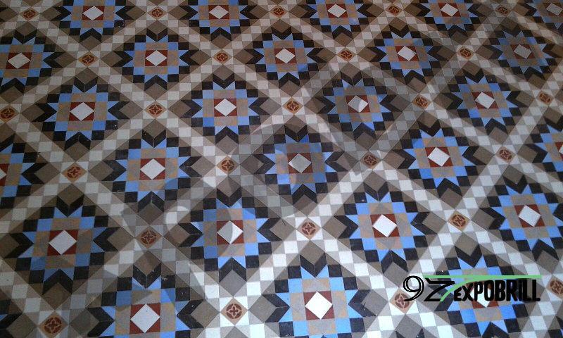 pulir mosaico de Nolla