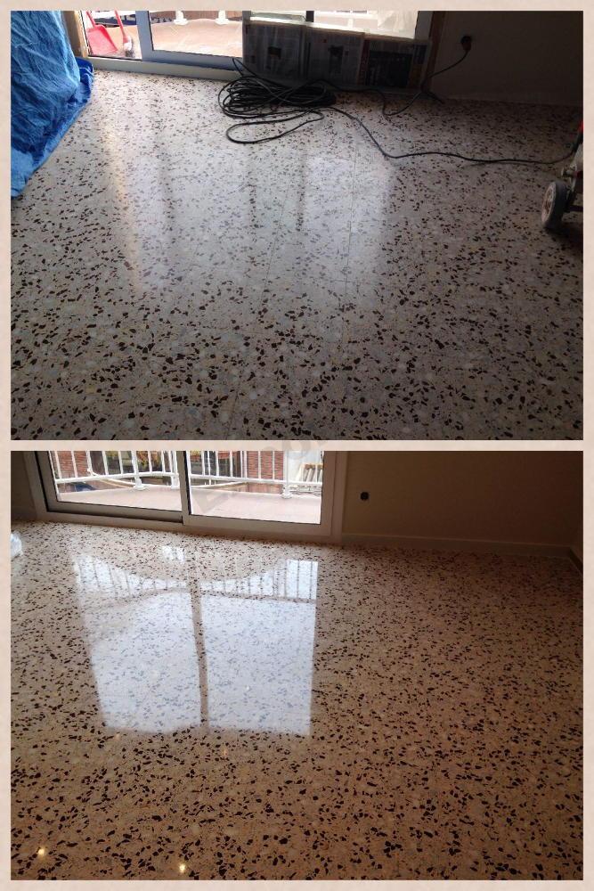 Pulido de terrazo expobrill pulido y abrillantado de - Pulir terrazo manualmente ...