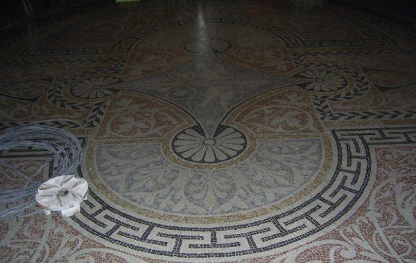 restauración mosaico romano