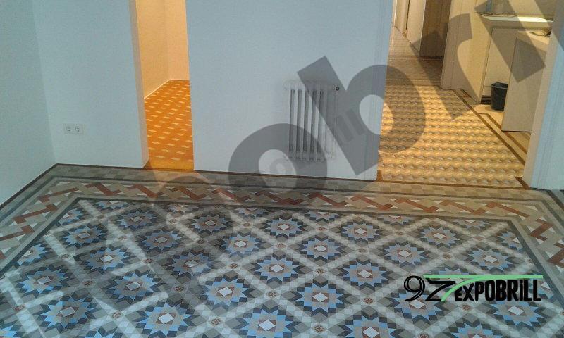restaurar mosaico de nolla