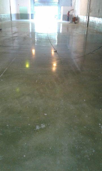 Pulir suelo nave industrial 005 pulidos expobrill - Pulir el suelo ...